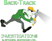 Back-Track Investigations